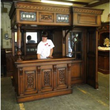 Bank Of England Bar Canopy Tavern Bank Of England Bar Canopy Tavern [bank of england pub bar] - $8,995.00 : The Kings Bay, Home Bar Furniture