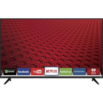 "VIZIO - 50"" Class (49.5"" Diag.) - LED - 1080p - Smart - HDTV - Black"