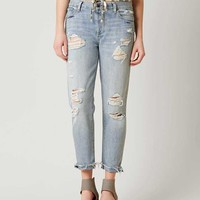 LUCKY BRAND SIENNA BOYFRIEND STRETCH CROPPED JEANS