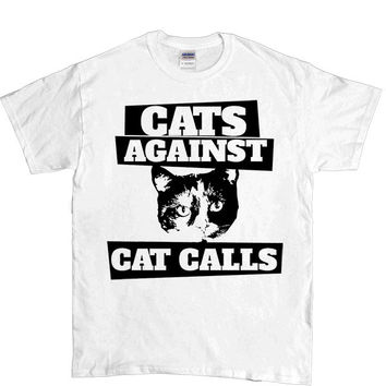 Cats Against Catcalls #3 -- Unisex T-Shirt
