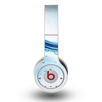 The Vivid Water Layers Skin for the Original Beats by Dre Wireless Headphones