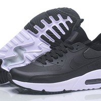 "Nike Air Max 90 Ultra Mid Winter ""Black&White"" Men Running Shoes Sneaker 924458-300-002"