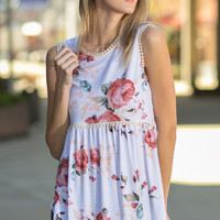 Sunshine State of Mind Sleeveless Top - Ivory