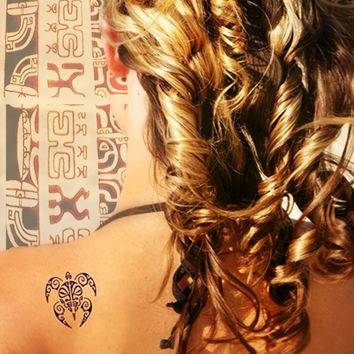 Tahitian Temporary Tattoo