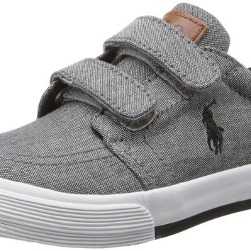 polo-ralph-lauren-toddler-faxon-il-ez-sneaker-grey-6-m-us-toddler number 1