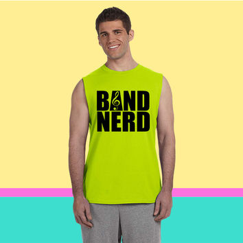 Band Nerd Sleeveless T-shirt