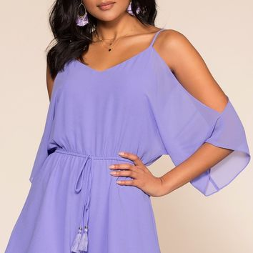 A Love Like This Romper - Periwinkle
