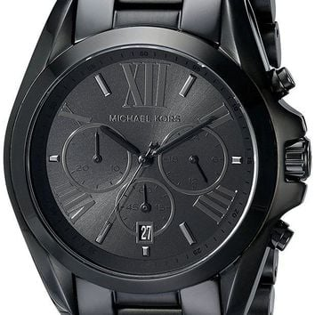 DCCKWA2 Michael Kors Men's Bradshaw Blacktone Chronograph Watch