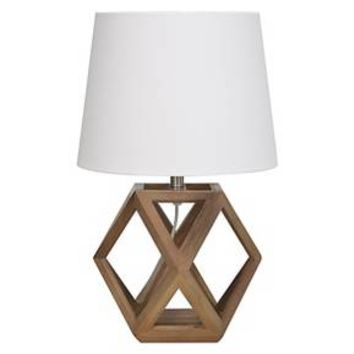 Accent Lamp Geometric Figural Wood - Threshold™