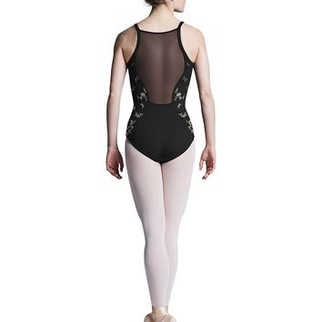 Mesh Back Cami Leotard L8287 by Bloch