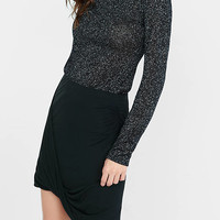 Metallic Long Sleeve Tee from EXPRESS