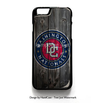 Washington Nationals for iPhone 4 4S 5 5S 5C 6 6 Plus , iPod Touch 4 5  , Samsung Galaxy S3 S4 S5 Note 3 Note 4 , and HTC One X M7 M8 Case Cover