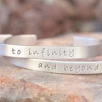 to infinity and beyond set of bracelets - one direction - 1D - toy story