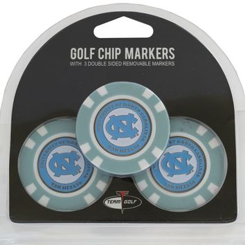 NCAA North Carolina Tar Heels Poker Chip Golf Ball Markers