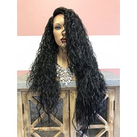 Long Beach Waves Swiss lace front wig | Amazon