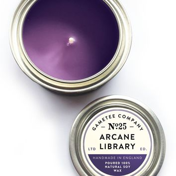 Arcane Library - Gaming Candle