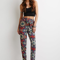 Abstract Tribal Print Pants