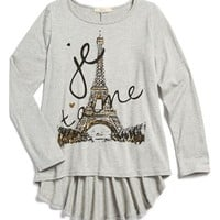 Girl's Soprano High/Low Long Sleeve
