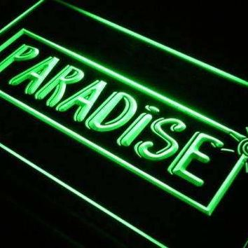 Paradise Beach House Decor Neon Sign (LED)