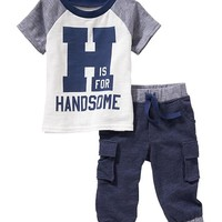 Tee & Pants Sets for Baby