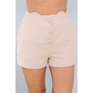 Cute And Sweet Shorts (Champagne)