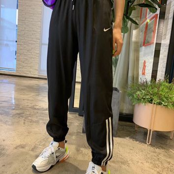 """Nike"" Summer Women Casual Stripe Sweatpants Leisure Pants Trousers"