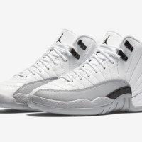 "Air Jordan 12 GS ""Barons"""
