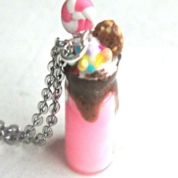 Candy Milkshake Necklace