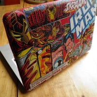 Custom Comic Book Macbook Pro Laptop Case by Bedazzleddd on Etsy