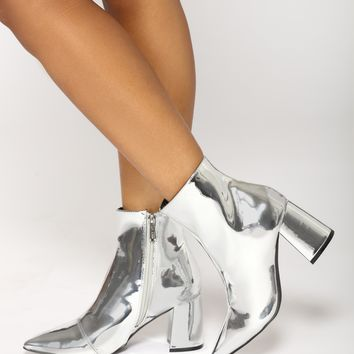 Olympic Bootie - Silver
