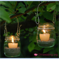 diy-garden-lanterns | ceremony-ideas | diy-wedding-ideas