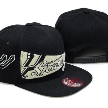 hcxx San Antonio Spurs New Era NBA 9FIFTY Cap Black