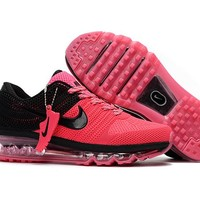 New Nike Air Max Pink black Train Running Shoes -2017 Release