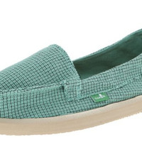 Sanuk Misty Teal Sidewalk Surfers
