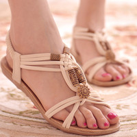 Women Sandals Summer Shoes Woman Gladiator Sandals Ladies Shoes Hot Sandalias Mujer Black Plus Size 41 42