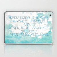 Imperfection Laptop & iPad Skin by Rachel Burbee | Society6