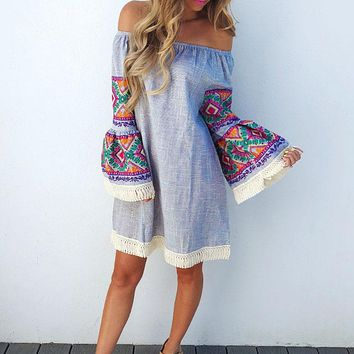 Crazy Beautiful Dress: Multi