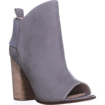 Kelsi Dagger Brooklyn Gemma Ankle Booties, Fog, 8 US