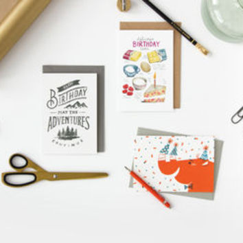 Three Month Greetings Card Subscription