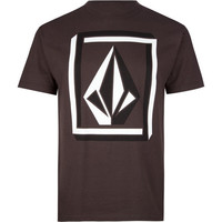 Volcom Interlock Mens T-Shirt Brown  In Sizes