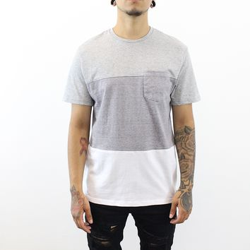 Dustin Multicolor T-Shirt (White/Grey)