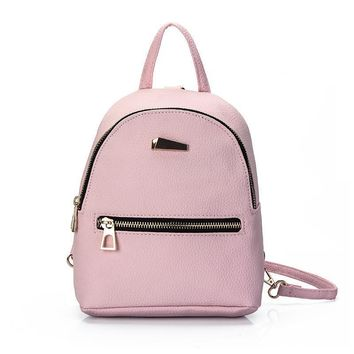 Women Leather Backpack children backpack mini backpack women cute back pack backpacks for teenage girls small bag