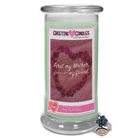 First my Mother, forever my friend. - Jewelry Greeting Candle