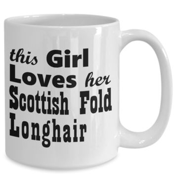 Scottish Fold Longhair - 15oz Mug