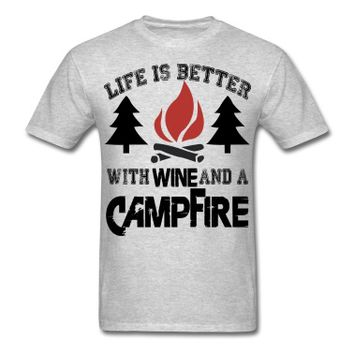 Camping Life Is Better T-Shirt