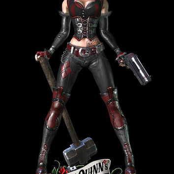 Harley Quinn's Revenge Arkham City costume cosplay custom made