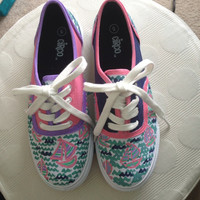 Sail Boat Shoes by PaintItBetter on Etsy