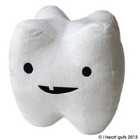 *NEW* - Tooth Plush - Flossin' Ain't Just For Gangstas : I Heart Guts, Love Your Insides