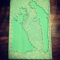 Cinderella String Art