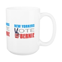 New Yorkers Vote Bernie Coffee Mug